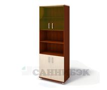 Шкаф широкий со стеклом Г-216.522.С2-2