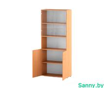Шкаф для документов со стеклом С-215.522.S.2-2