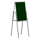 Школьная доска - Мольберт 1000x750 (зел/белкомб) (М-21)