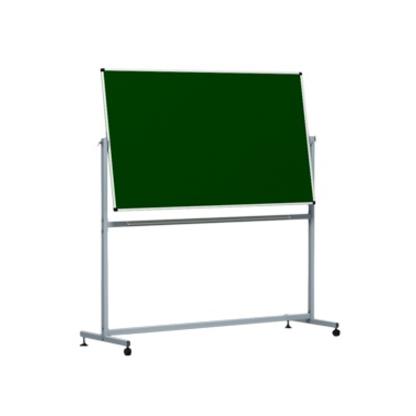 Школьная доска - Передвижная 1500x1000  (зел/бел/комб) ПИ-22