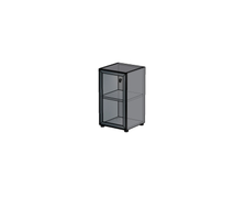Каркас стеллажа с алюминиевым фасадом H011_Н160