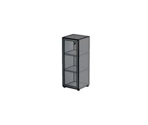 Каркас стеллажа с алюминиевым фасадом H021_Н162