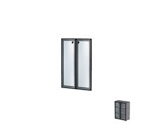 Комплект дверей в алюминиевой раме Н261