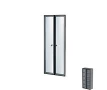 Комплект дверей в алюминиевой раме Н262