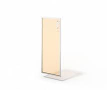 Дверь стеклянная в алюминии М-С-8.1094