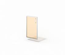 Дверь стеклянная в алюминии М-С-8.737