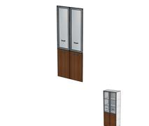 Двери комбинированные без замка ДШД16.07к.