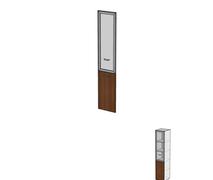 Двери комбинированные без замка ДШД16.07.