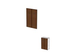 Двери для широких стеллажей без замка ДШД32.07к.