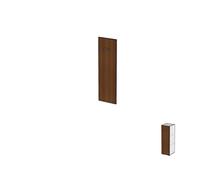 Двери для узких стеллажей без замка ДШД32.07.