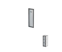 Дверь алюминиевая без замка ДШД34.07.
