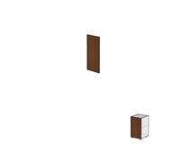 Двери для узких стеллажей без замка ДШД52.07.