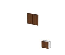 Двери для широких стеллажей без замка ДШД52.07к.