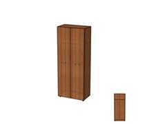 Шкаф-гардероб двери с замком ШД11(з).