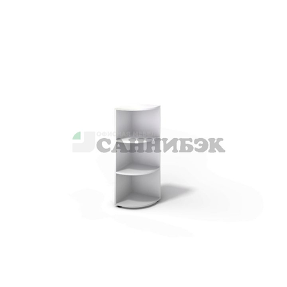 Стеллаж угловой CI-1391  380х380х1080