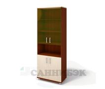 Шкаф широкий со стеклом Г-216.522.С3-2